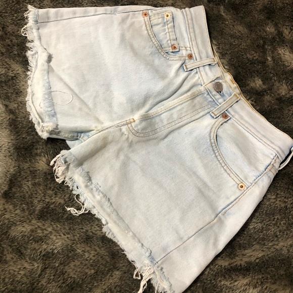 Levi's Pants - Levi's Original Cut Off Short